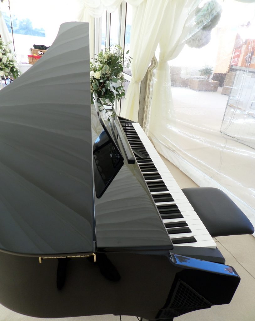 Grand Piano Shell - Pianist Gretna Green